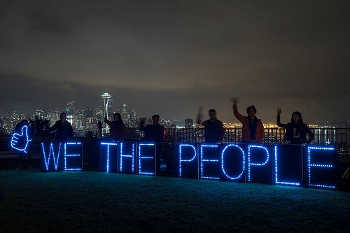 Rolling Rebellion Sparks in Seattle to Defend Internet & Stop the TPP / Backbone Campaign