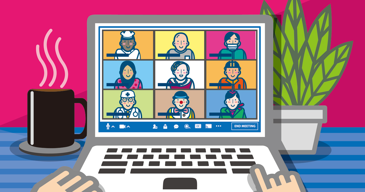 Adobe Stock、「Zoom」などのビデオ会議で使用する背景画像を無料で ...